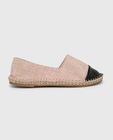 Béžové espadrilky Truffle Collection