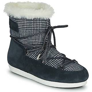 Obuv do snehu  MOON BOOT FAR SIDE LOW FUR TARTAN