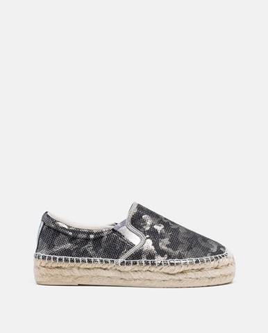 Sivé espadrilky Replay