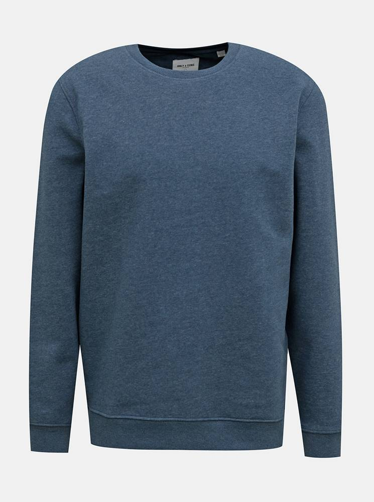 ONLY & SONS Tmavomodrá basic mikina ONLY & SONS Vincent